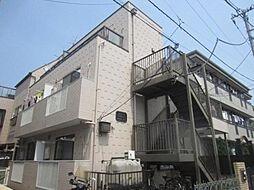 東京都豊島区巣鴨3丁目の賃貸アパートの外観