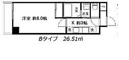 ユニテ朝霞台[102号室]の間取り