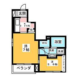 はくほう・桜[1階]の間取り