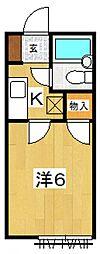 Yコーポ[203号室号室]の間取り