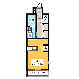Mode EightI[1階]の間取り