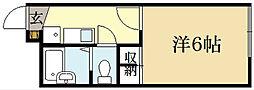 レオパレスウェルスten[1階]の間取り