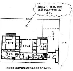 [一戸建] 神奈川県藤沢市長後 の賃貸【/】の間取り