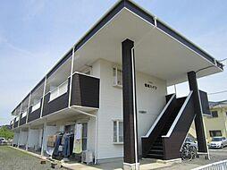 茨城県ひたちなか市高場6丁目の賃貸アパートの外観