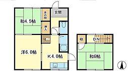 [一戸建] 兵庫県姫路市青山北2丁目 の賃貸【/】の間取り