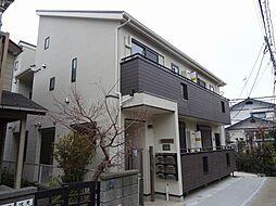 神奈川県横浜市磯子区田中2の賃貸アパートの外観
