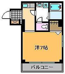 馬場ビル[3階]の間取り