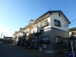 栃木県宇都宮市下栗1の賃貸アパートの外観