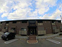 兵庫県川西市笹部2丁目の賃貸アパートの外観