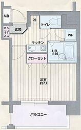 ロアール御茶ノ水妻恋坂[12階]の間取り