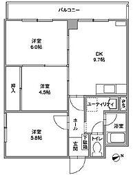 [タウンハウス] 北海道札幌市中央区南十七条西8丁目 の賃貸【/】の間取り