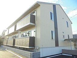 静岡県静岡市清水区駒越西1丁目の賃貸アパートの外観