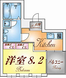 REVE[3階]の間取り