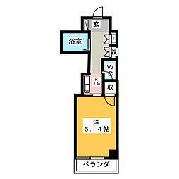 エトワール宇都宮第1[4階]の間取り