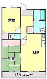 パティオ武庫之荘[5階]の間取り