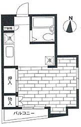 ダンディライオンビル(南太田)[402号室]の間取り
