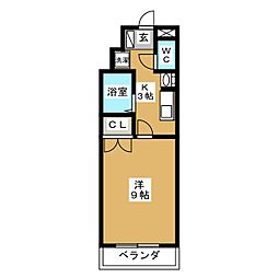オオキタ・コーポレーションビル[3階]の間取り