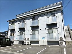 滋賀県甲賀市水口町虫生野虹の町の賃貸アパートの外観