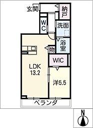 ヴェルム東別院[5階]の間取り