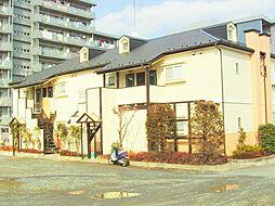 東京都清瀬市中清戸4丁目の賃貸アパートの外観