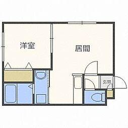KAZU麻生[3階]の間取り