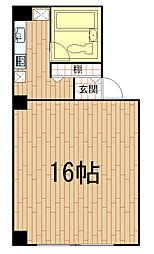 カーサフォルツア[3階]の間取り