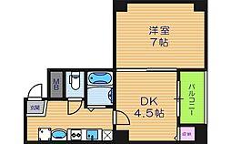 GRAND VERY[4階]の間取り