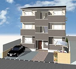 (仮称)D-room北三国ヶ丘8丁[2階]の外観