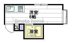 ラパンジール本田II[9階]の間取り