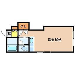 北海道札幌市中央区南六条西18丁目の賃貸マンションの間取り