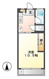 広路苑[2階]の間取り