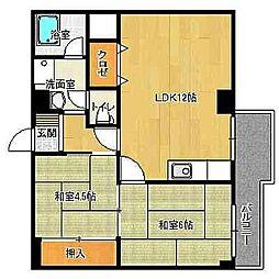 築地第一ビル[3階]の間取り