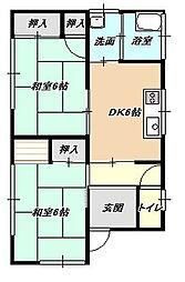 [一戸建] 福岡県北九州市小倉南区横代北町4丁目 の賃貸【/】の間取り