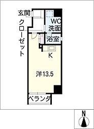 アーデン東別院[5階]の間取り