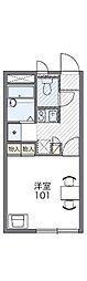レオパレスヴィラインゼル[2階]の間取り