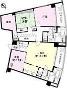 LDK約18畳 洋室 洋室 和室