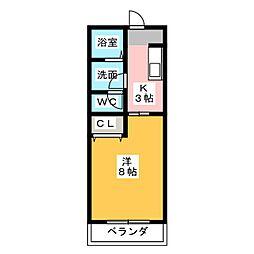 ステーションサイド[1階]の間取り