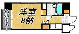ダイナコート大濠II[7階]の間取り