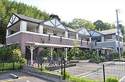 京都府京田辺市三山木上谷浦の賃貸アパートの外観