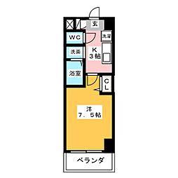 ファーニッシュ太平通[6階]の間取り