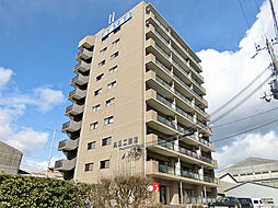 滋賀県甲賀市水口町北脇の賃貸マンションの外観