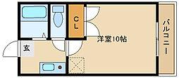 彩華4[1階]の間取り