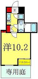 ビバリーホームズ赤塚公園II 1階1Kの間取り