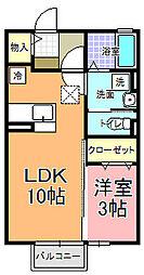 CO−MIKA プロバンス館[1階]の間取り