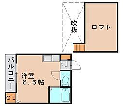 エレガンテ博多駅南[2階]の間取り
