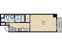 ラフォーレ東野田2[7階]の間取り