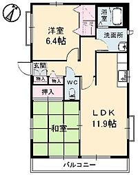 エンゼルハイムA棟[2階]の間取り