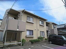 大阪府八尾市太田1丁目の賃貸アパートの外観