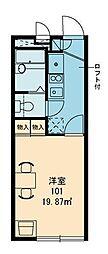 宮崎県宮崎市鶴島3丁目の賃貸アパートの間取り