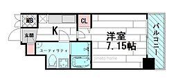 SERENiTE江坂壱番館[11階]の間取り